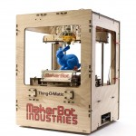 A commercially available, at home 3D printer from MakerBot Industries