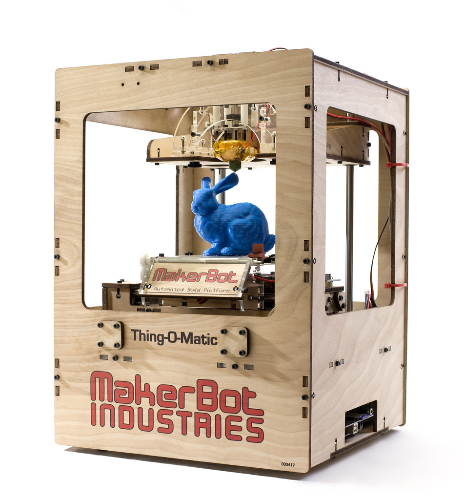 Let me check in the back: how 3D printing will revolutionize future commerce