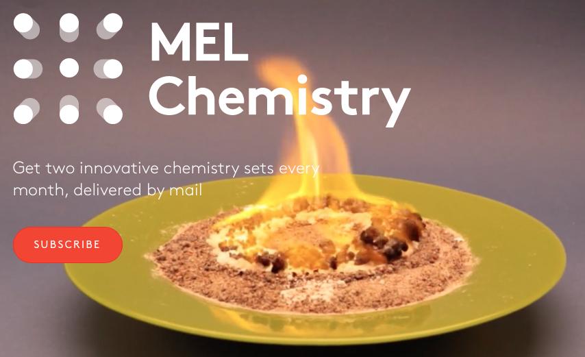 Chemistry at Home: Exploring the MEL Chemistry Kit