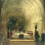 Banquet in Thames Tunnel - George Jones
