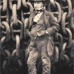 Brunel at the launching of the Great Eastern by Robert Howlett