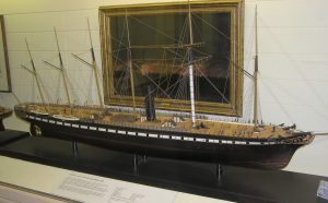 Model of the SS Great Britain