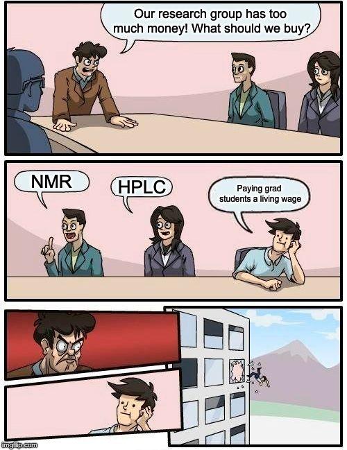 Science Memes: Graduate Student Edition