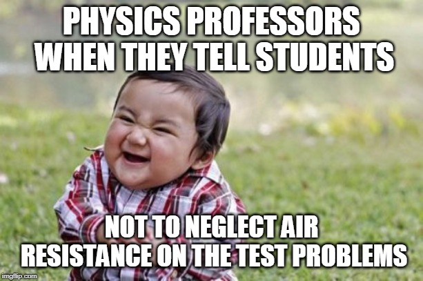 Science Memes Air Resistance Charged Magazine