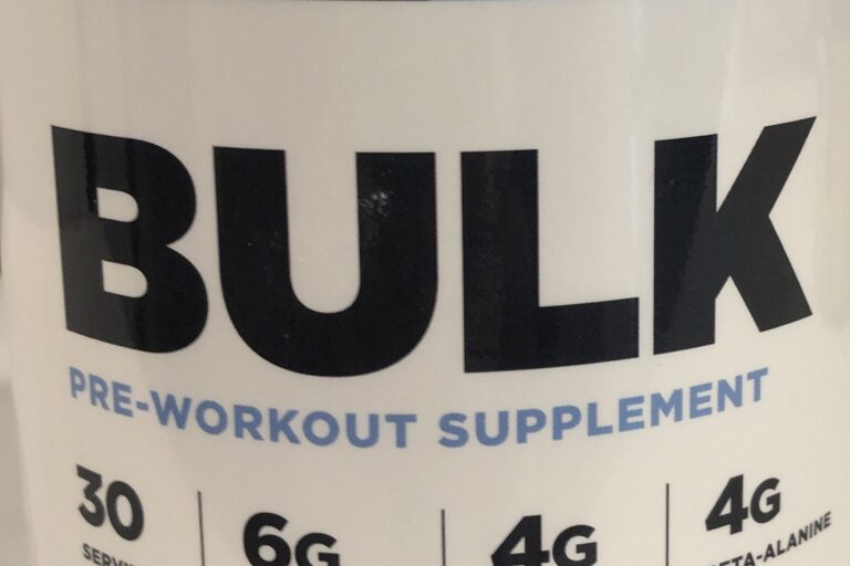 The Chemistry Behind Common Workout Supplements