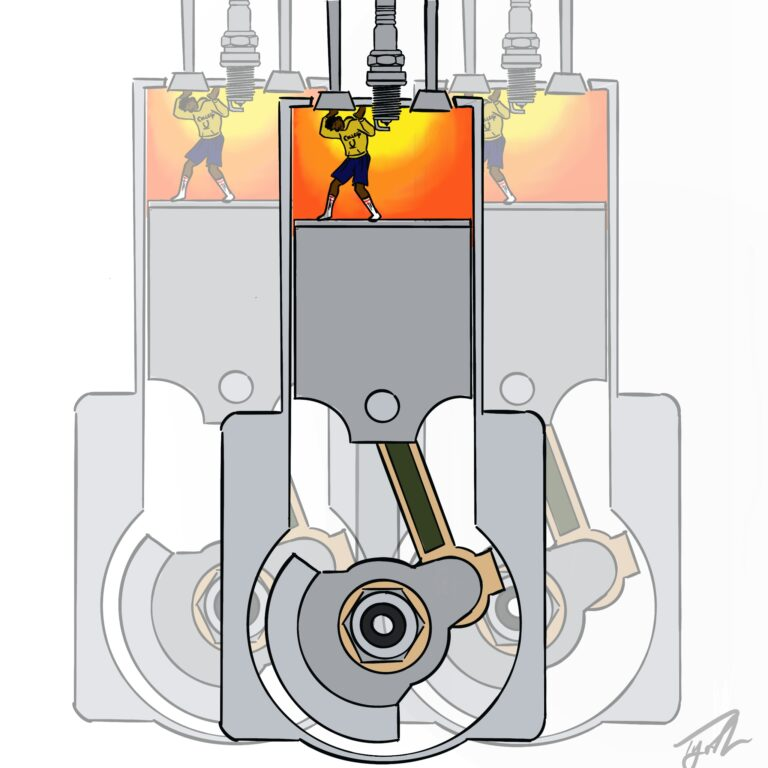 College Student? Or Air in a Spark-Ignition Engine? A Haiku