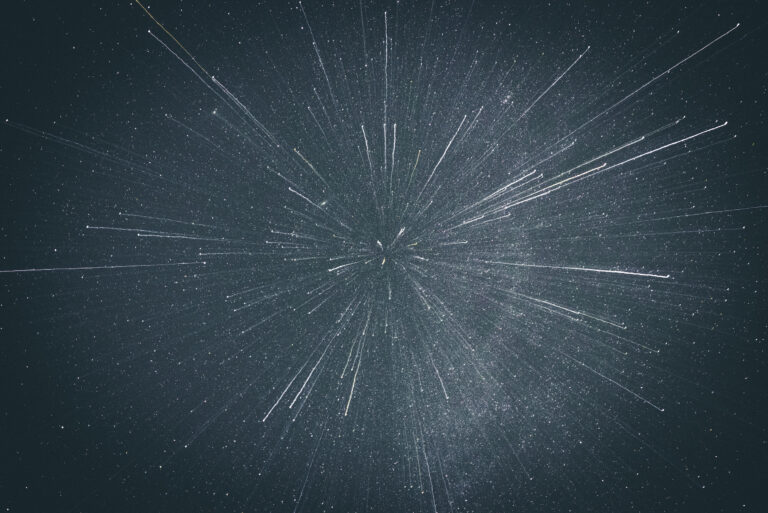 A Cosmological Experiment